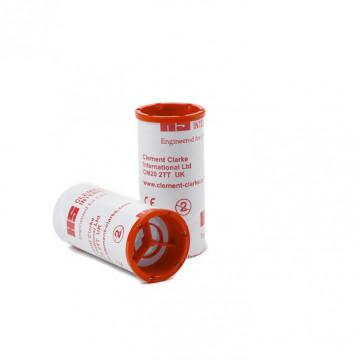 Embout carton à valve anti-retour (expiratoire) Ø 28 mm (par 100 unités)