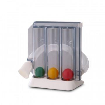 Spiromètre incitatif PULMOGAIN, dispositif d'entrainement pour le renforcement des muscles pulmonaires