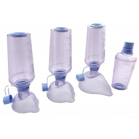 Chambre d'inhalation avec masque enfant, ABLE SPACER 2, anti-microbienne